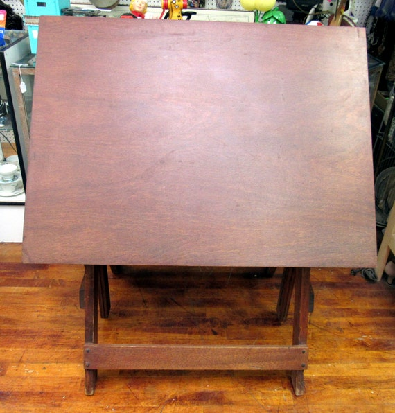 Drafting table by Kueffel & Esser Co.