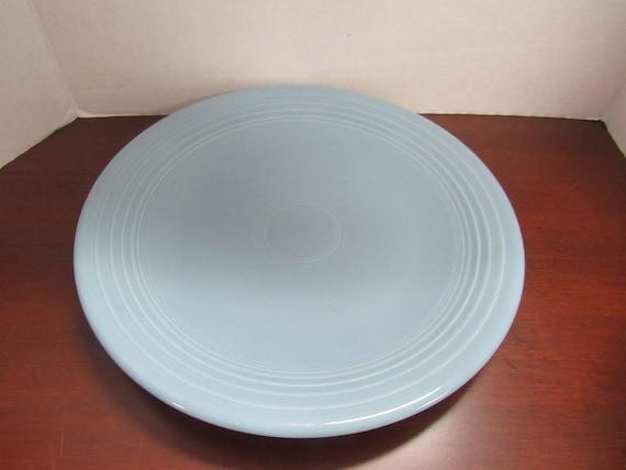 Blue Fiesta Round Chop Plate Serving Platter