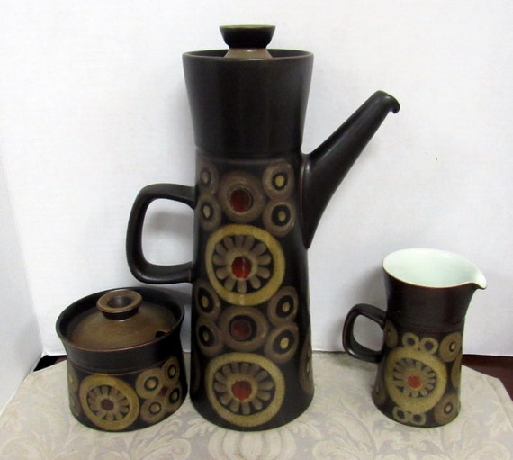 Denby Arabesque Coffee Set with 29 pieces