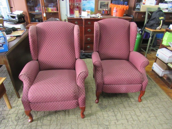 Lane Pushback Recliner burgundy