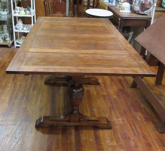 English Oak Pub Table