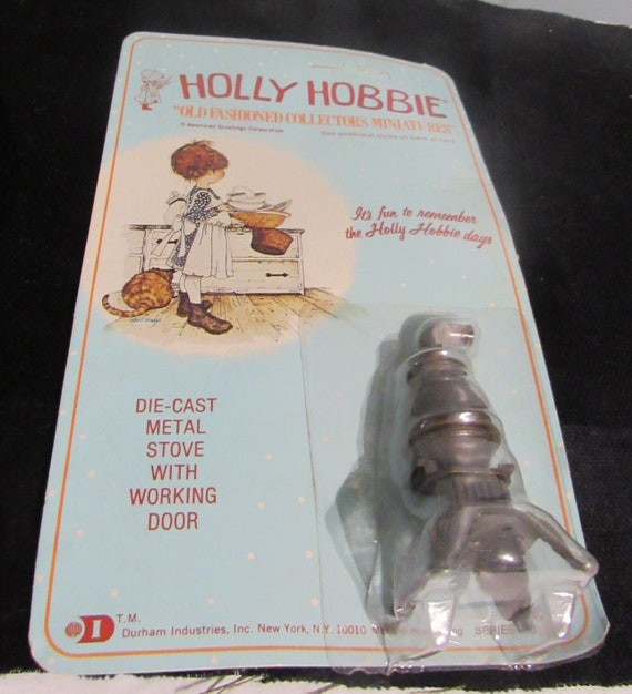 Holly Hobbie miniature stove MIP