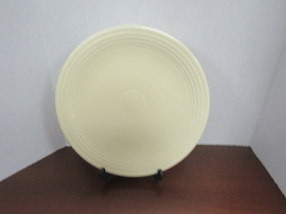 Old Ivory Fiesta Round Chop Plate Serving Platter