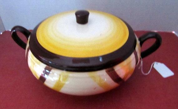 Vernon Kilns Organdie Covered Casserole dish