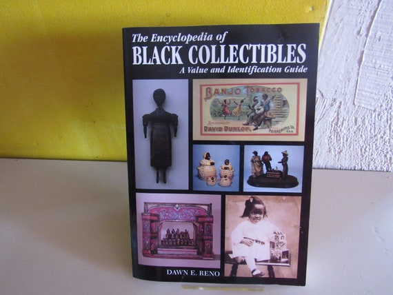 Antique reference book Encyclopedia of Black Collectibles