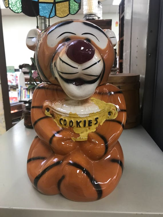 Disney Tigger Cookie Jar