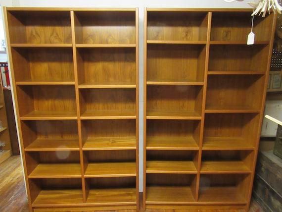 Danish Modern bookshelves