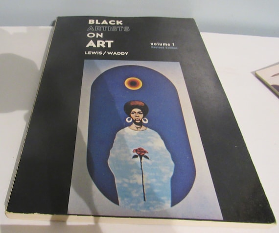 Black Artists On Art Autographed Book