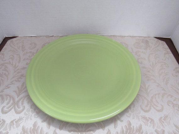 Chartreuse Fiesta Dinner Plate