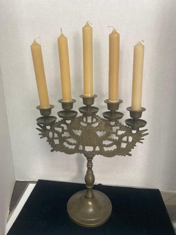 Bronze candelabra
