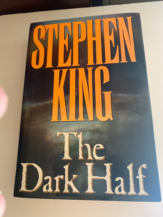 Stephen King The Dark Half First Edition book