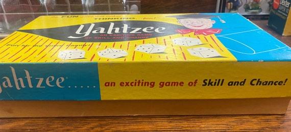 Vintage Yahtzee game