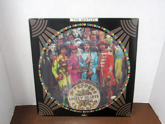 The Beatles Sgt. Pepper picture disc lp