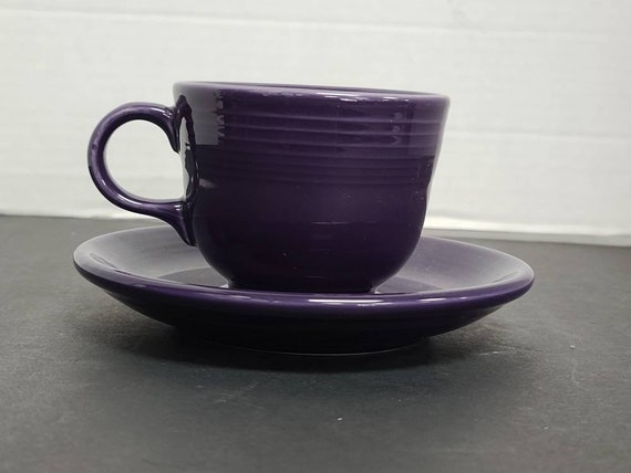 Fiesta Purple cup and saucer