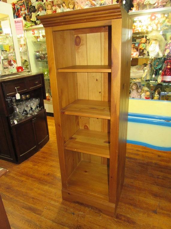 Knotty Pine bookshelf