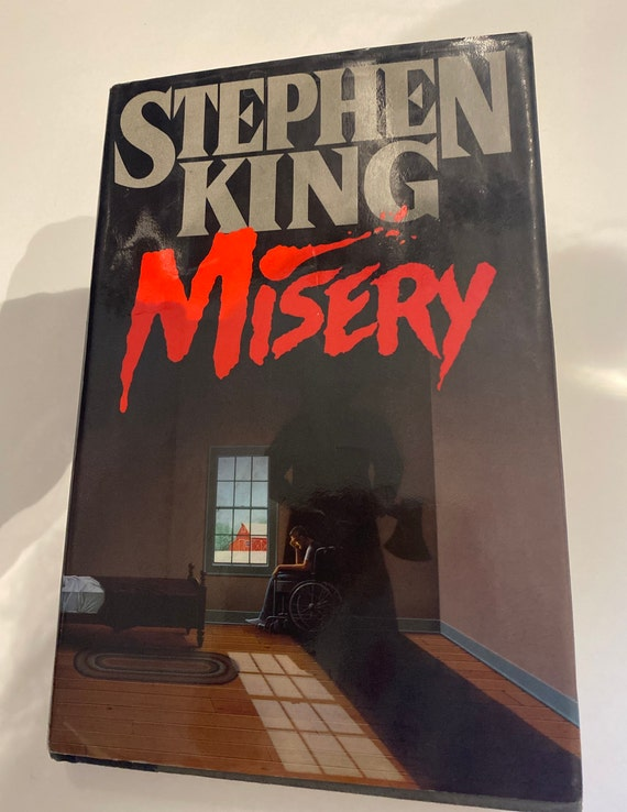 Stephen King Misery First Edition book