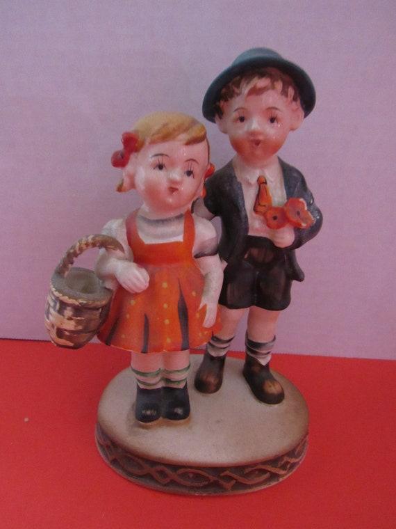 Occupied Japan Boy and Girl figurine