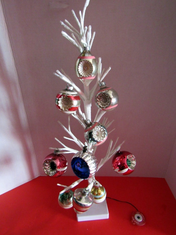 Ten Vintage Christmas Ornaments