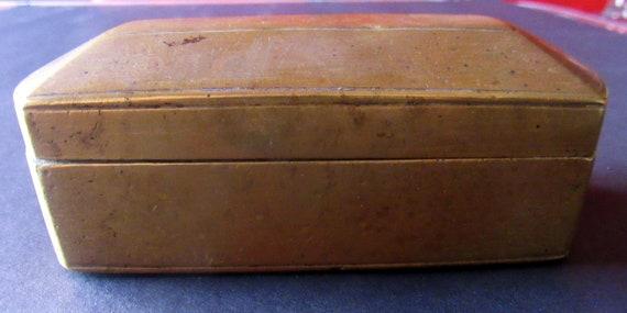 Brass Beetle or snuff box