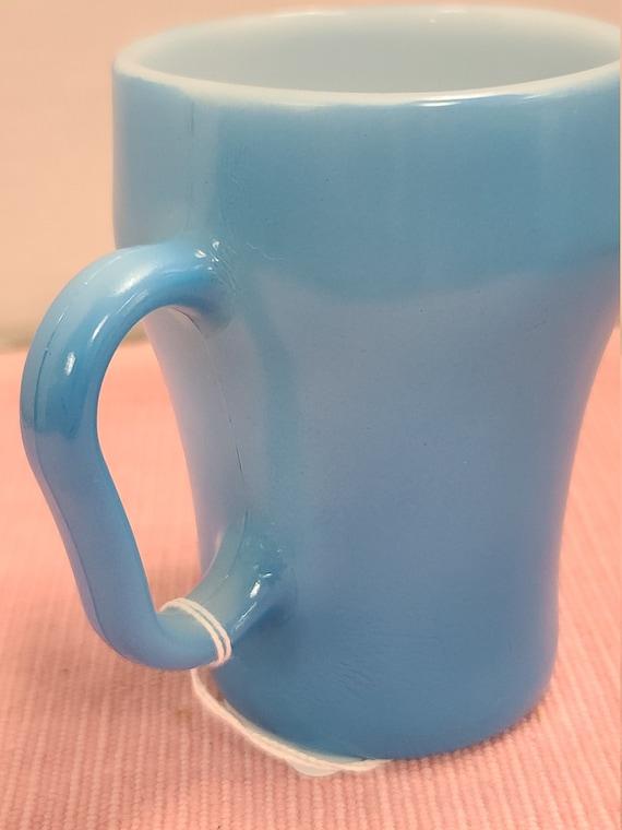 Fire King blue mug