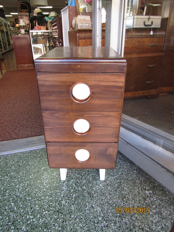 walnut night stand or end table