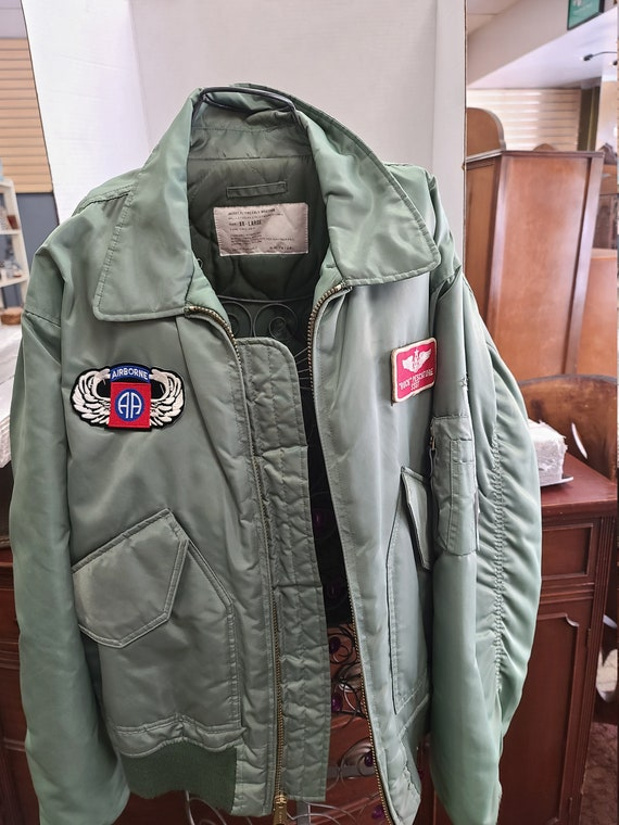 Cold weather flight jacket