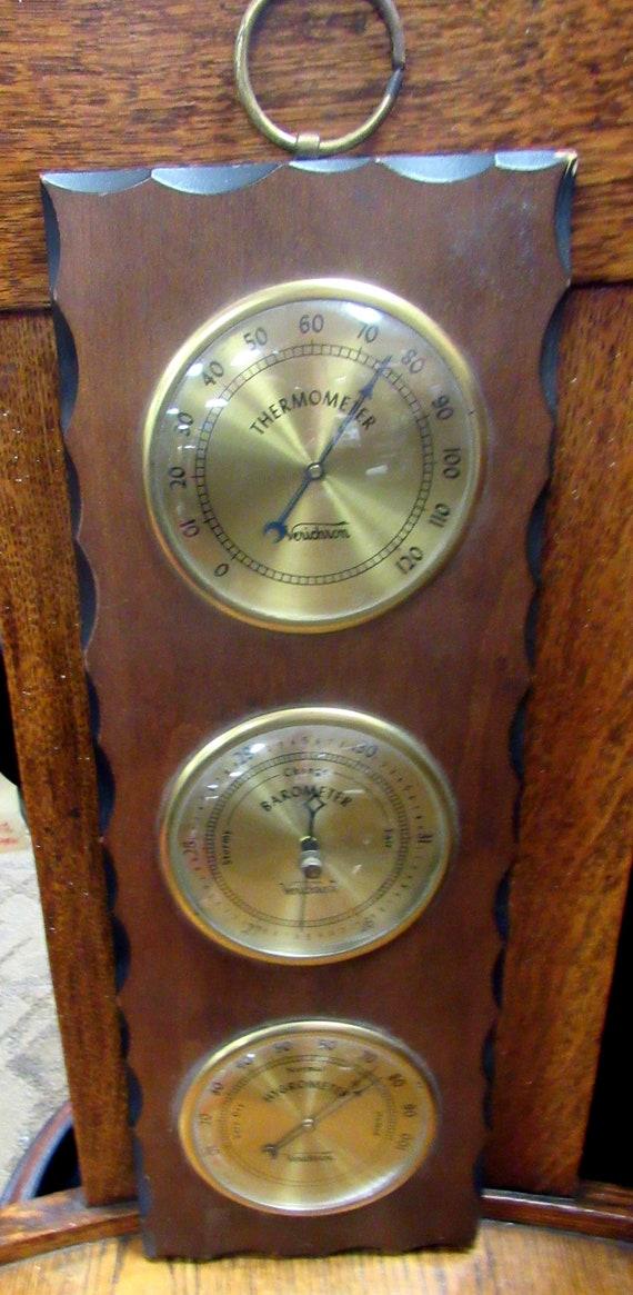 Verichron Thermometer, Barometer and Hygrometer