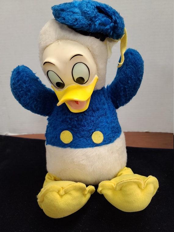 1950's Donald Duck Disney plush toy.