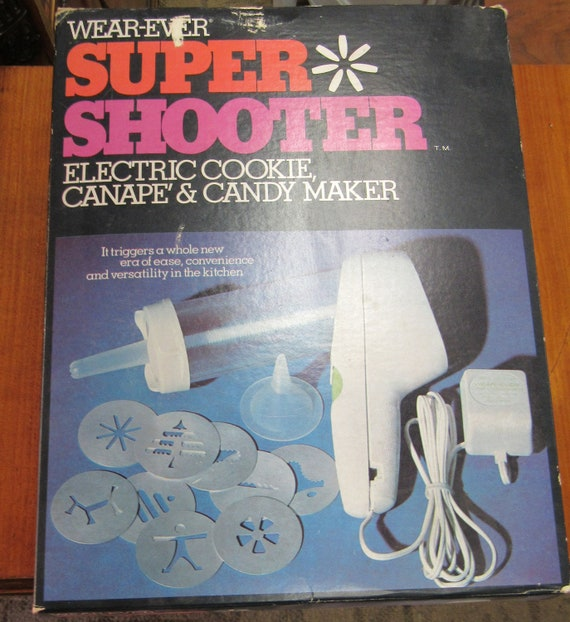Wear-Ever Cookie Press Super Shooter MIB