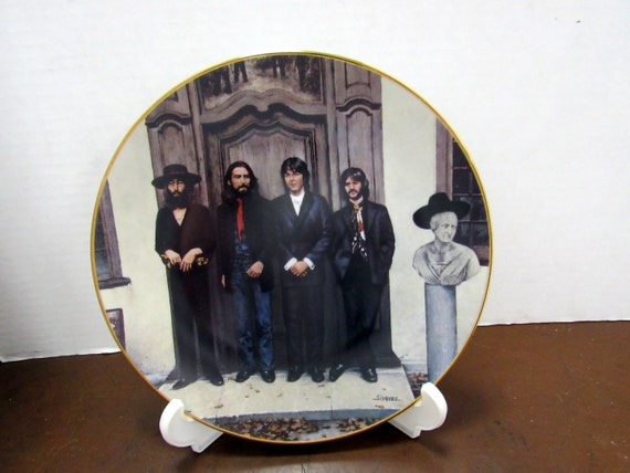 The Beatles HEY JUDE Collector plate