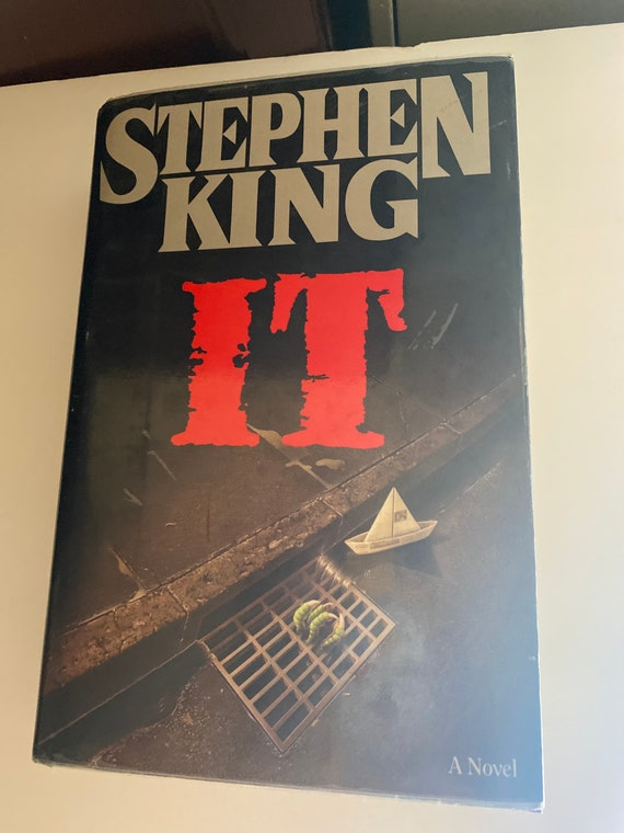 Stephen King It First Edition book