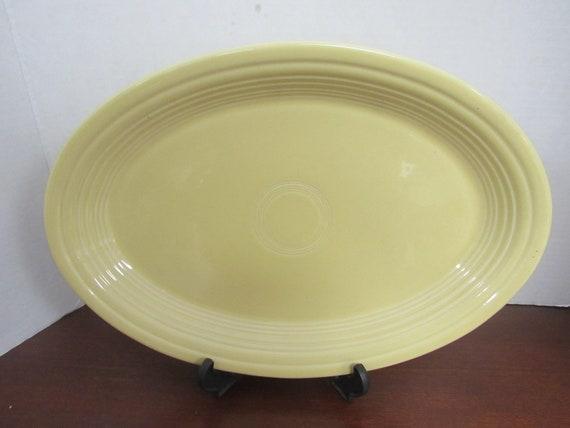 Fiesta Oval Platter yellow