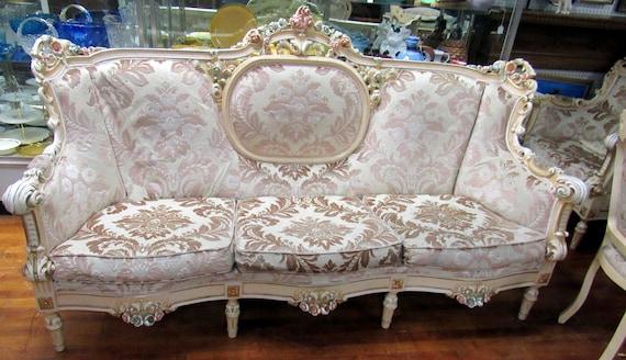 Italian sofa baroque rococo by Silik