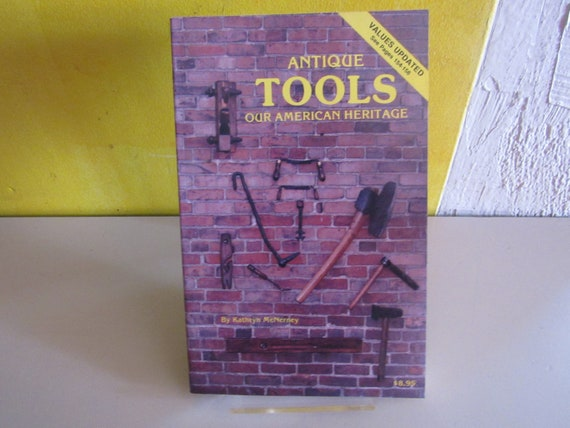 Antique reference book Antique Tools