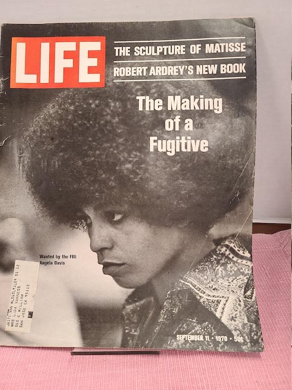 Life magazine Angela Davis cover