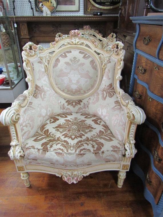 Italian srm chair baroque rococo by Silik