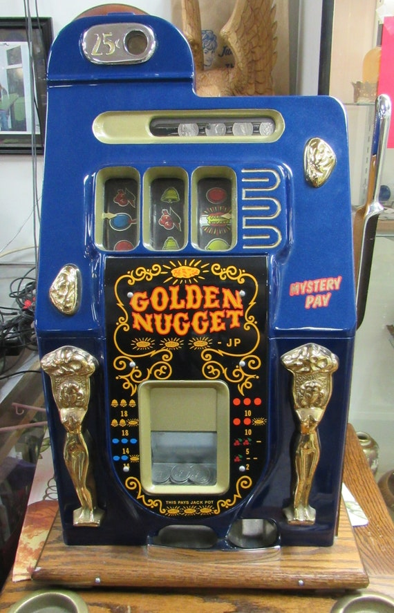 Vintage slot machine - Golden Nugget