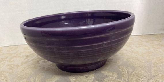 "Fiestaware ""6"" Rice  Bowl Retired Color Purple"