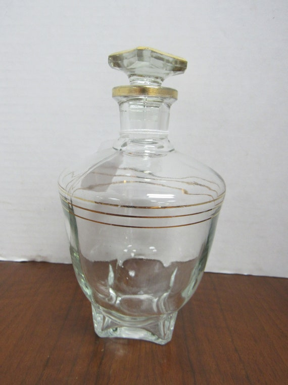 Crystal Cordial Decanter