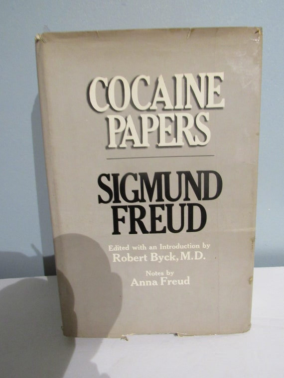 Cocaine Papers by Sigmund Freud First Edition book
