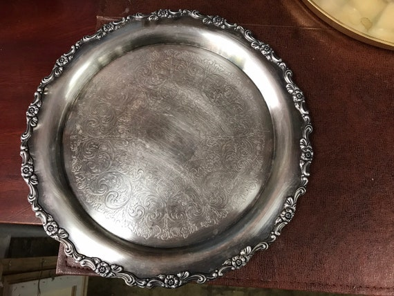 Rogers silverplate tray