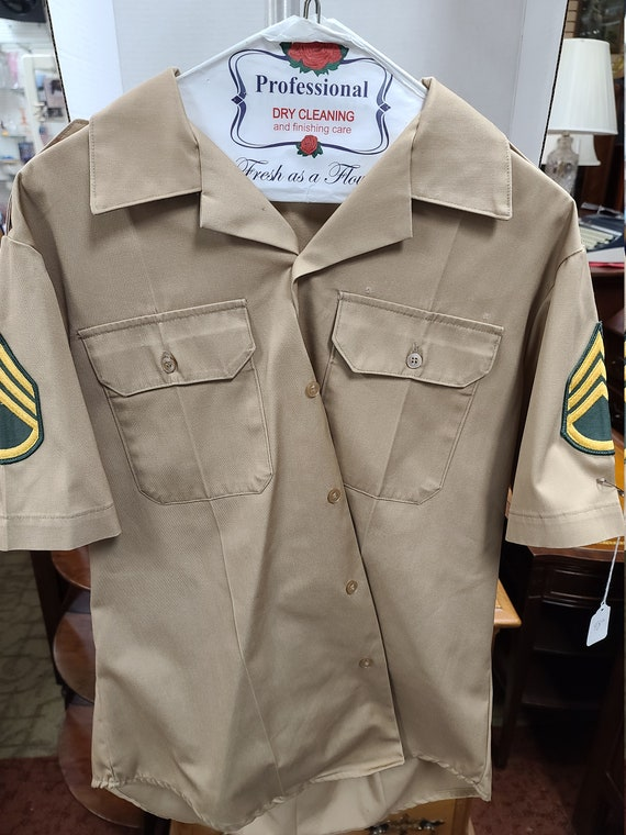 US Army sergeant's shirt