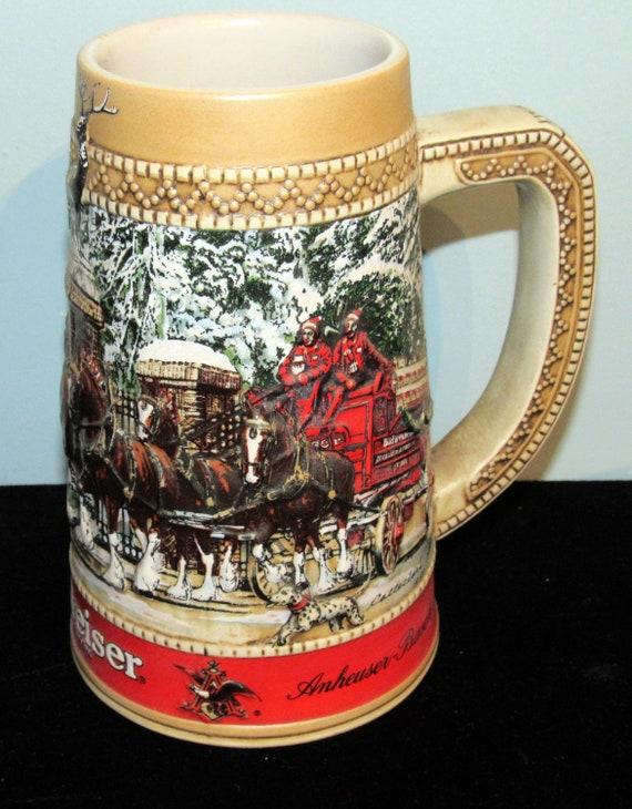 Anheuser Busch Budweiser Clydesdales Beer Stein