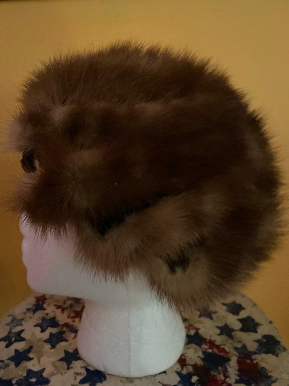 Vintage Mink tails Hat
