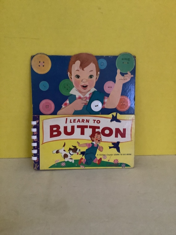 I Learn to Button book