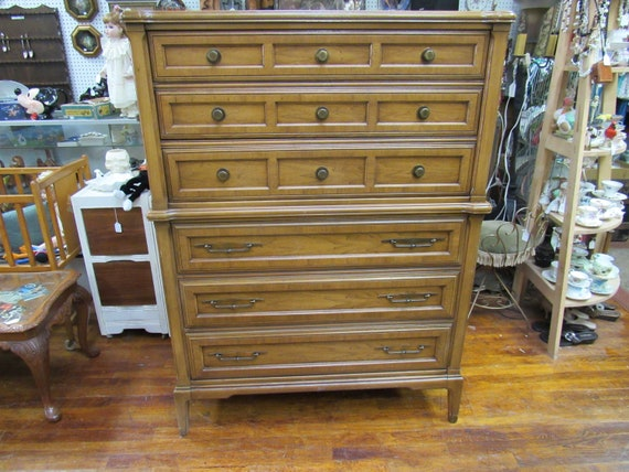 Tall highboy dresser
