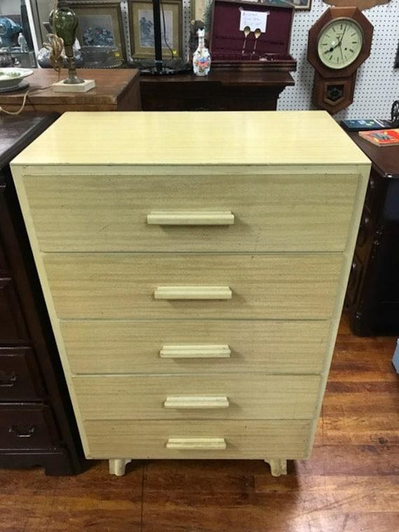 Mid Century Dresser blond