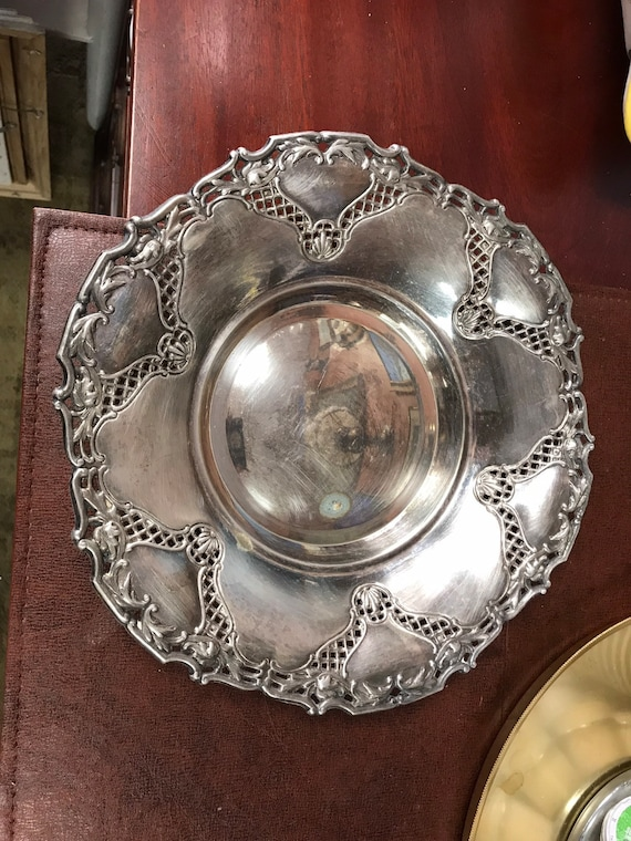 Rogers silverplate bowl