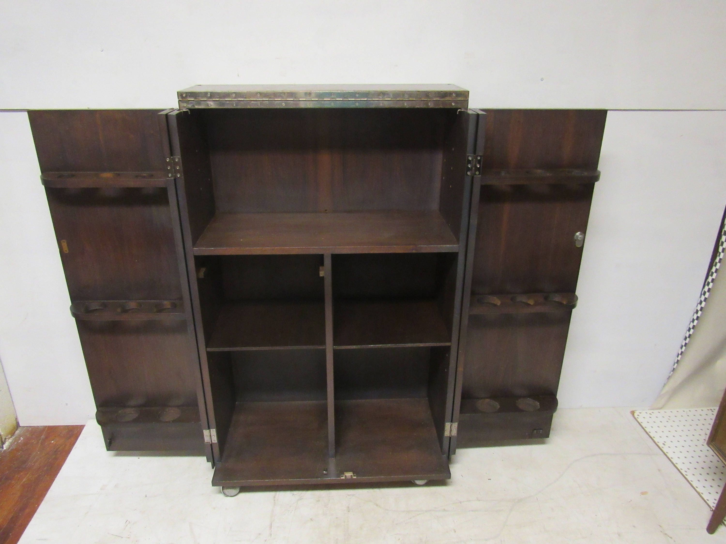 Fold Away Bar Cabinet. Gallery Photo Gallery Photo Gallery Photo ...