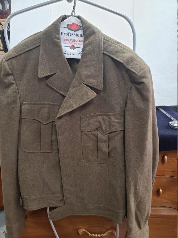 Military uniform jacket